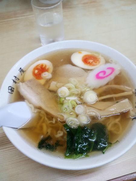 「煮玉子白湯そば」@地球の中華そばの写真