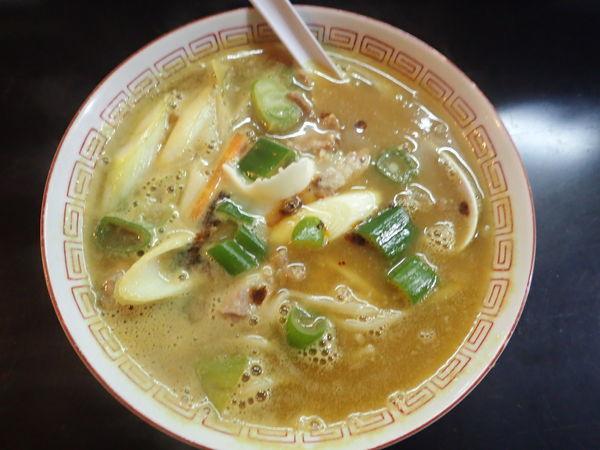 「五香ラーメン(カレー)」@13湯麺の写真