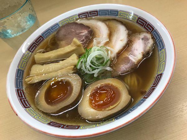 「煮干しラーメン」@煮干鰮らーめん 圓の写真
