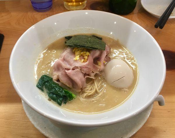 「鯛白湯そば【限定】」@麺屋BISQの写真