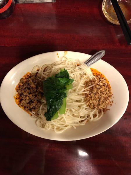 「楊特製 汁なし担々麺 800円」@中国家庭料理 楊 別館の写真