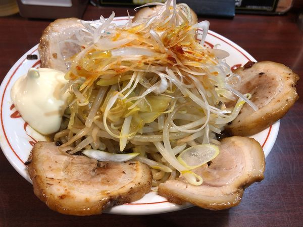 「黒丸肉食系油そば+マヨネーズ」@ぶぶか 吉祥寺北口店の写真