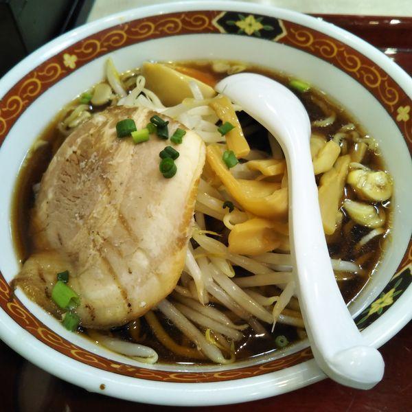 「熟成醤油らぁ麺」@中華食堂 一番館 渋谷桜丘町店の写真