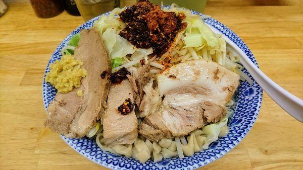 「酸辣湯麺(大盛・中辛・生姜)」@らーめん きじとらの写真