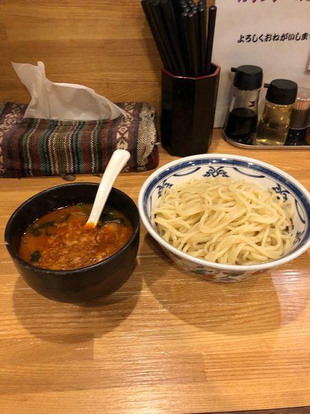 「カレーつけ麺味玉850円」@麺座風水の写真