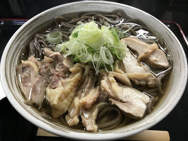 「温かい肉そば  640円」@肉そば藤七の写真