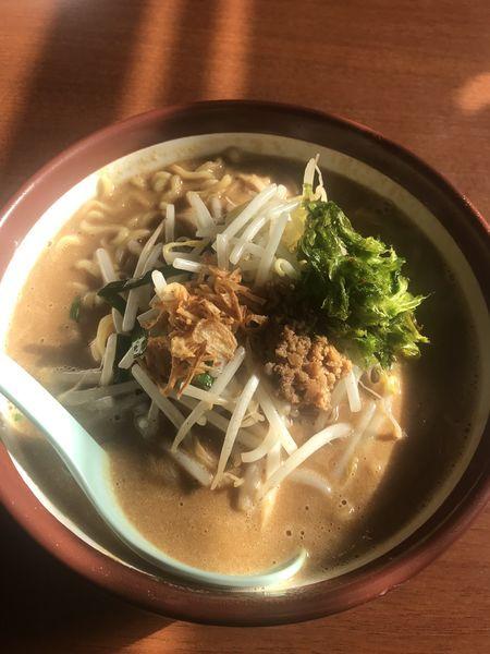 「伊勢味噌ラーメン」@蔵出し味噌 麺場 壱歩 東大和店の写真
