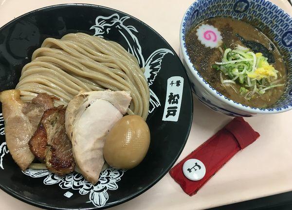 「濃厚つけめん+特製トッピング」@中華蕎麦 とみ田 味の逸品会の写真