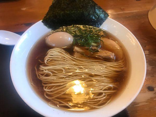 「味玉中華そば 親子丼ランチ 1,058円」@麺や食堂の写真