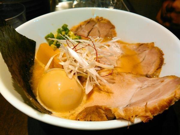 「特製鶏白湯らーめん」@麺屋ひぶたの写真