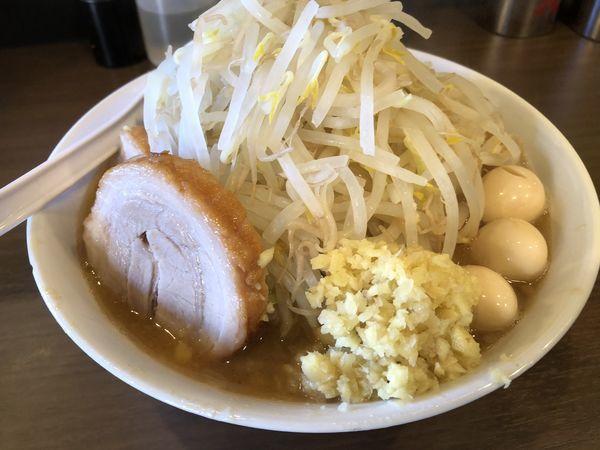 「ラーメン小ウズラ豚1」@RAMEN NOROSHI 東大宮の写真