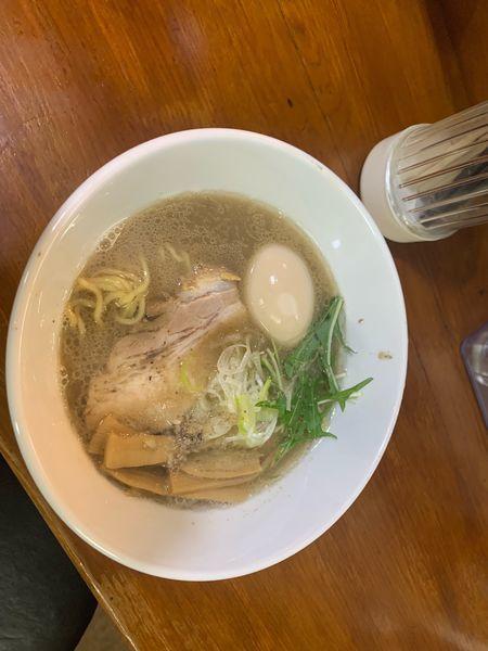 「鶏白湯、きのこ」@らーめん こもれびの写真