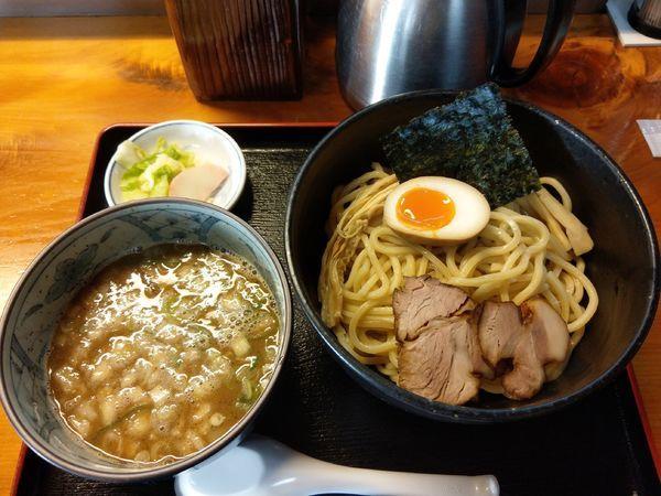 「つけ麺 小750円」@つけ麺 中華そば 佐とうの写真