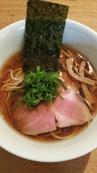 「ハーフサイズ醤油RAMEN」@麺や渦雷UZURAIの写真