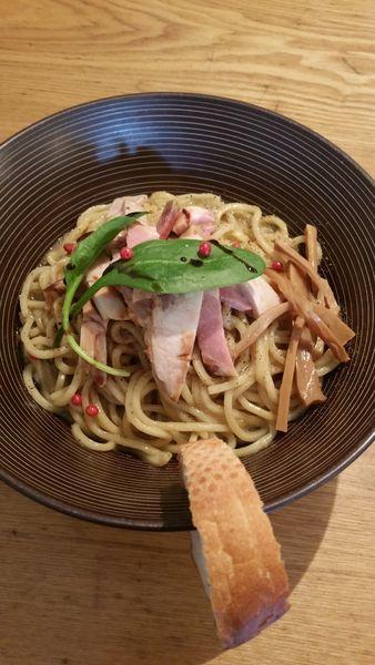 「牡蠣まぜSOBA」@麺や渦雷UZURAIの写真