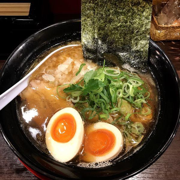 「特製煮干し中華そば」@麺屋 Rai遥の写真