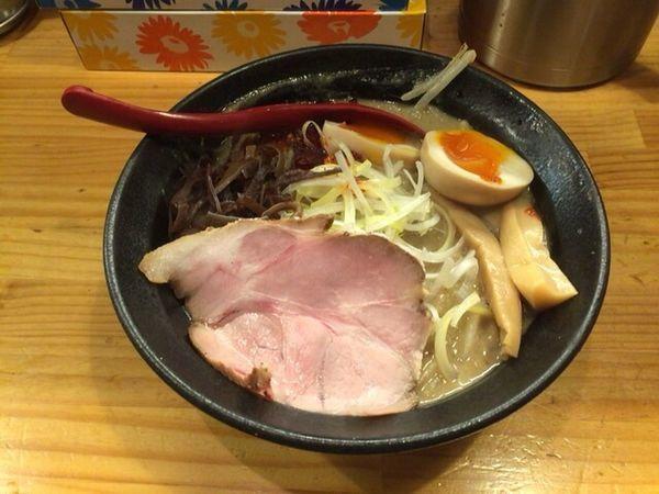 「味噌ラーメン+味付け玉子」@miso style となみの写真