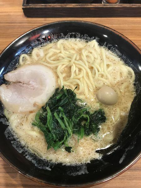 「ラーメン醤油大(¥860)」@横浜家系ラーメン 壱角家 芝大門店の写真