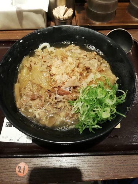 「肉うどん2玉840円」@香川 一福 神田店の写真