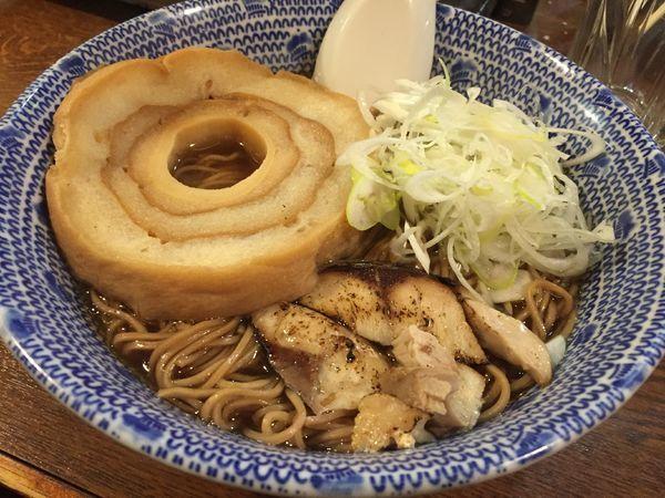 「アジ(鯵)ディープインパクト:RE(800円)」@麺や ふくろうの写真