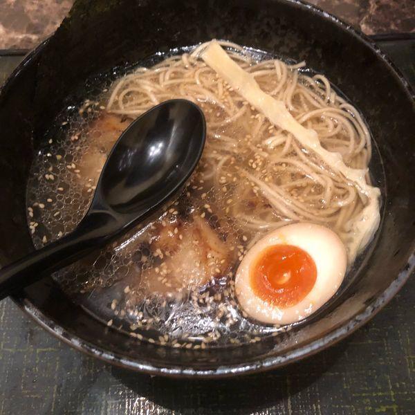 「極旨塩ラーメン」@麺匠 竹虎 新宿店の写真