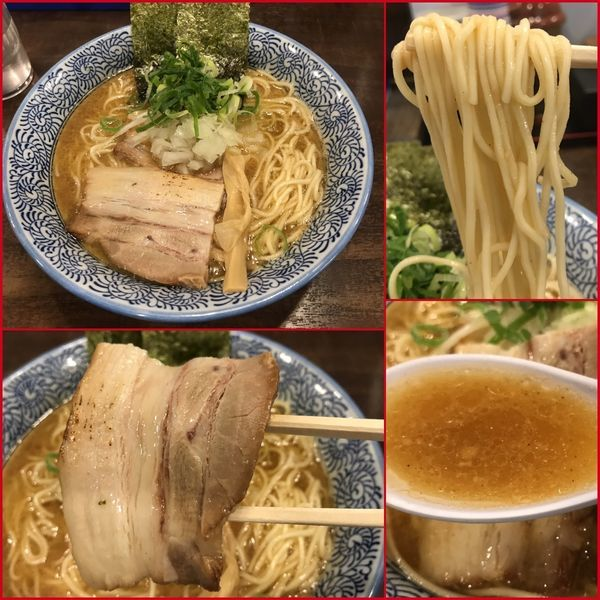 「濃厚煮干し中華そば¥780+麺大盛り¥100」@麺匠 銀星 海美風の写真