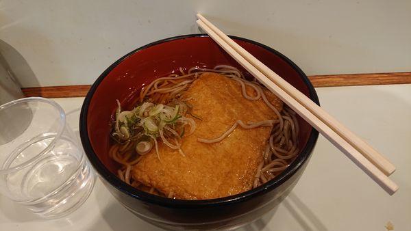 「きつね蕎麦 340円」@おくとねの写真