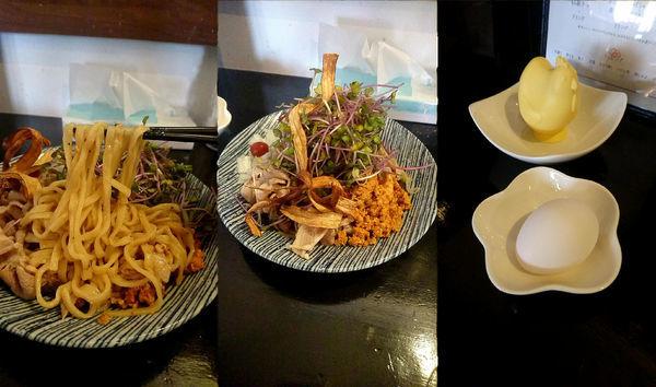 「『肉しゃぶまぜそば 醤油+シビレ肉増し(¥880+120)』」@RINGODOの写真