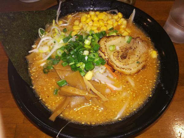 「味噌ラーメン(720円)」@無極の写真