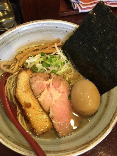 「煮干塩 味玉」@麺屋 照の坊の写真