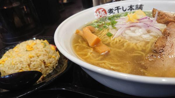 「淡麗煮干し塩」@極煮干し本舗 東松山店の写真
