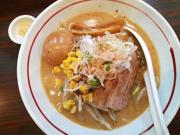「あじ玉味噌らー麺」@らー麺 あけどやの写真