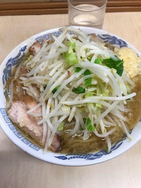 「ミニラーメン 豚増し」@ラーメン二郎 京成大久保店の写真