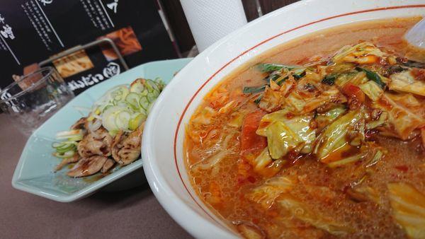 「味噌ホンコンラーメン」@ラーメン ばんだい 嵐山店の写真