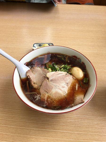 「醤油ラーメン ミニライス」@らーめん 高〇の写真