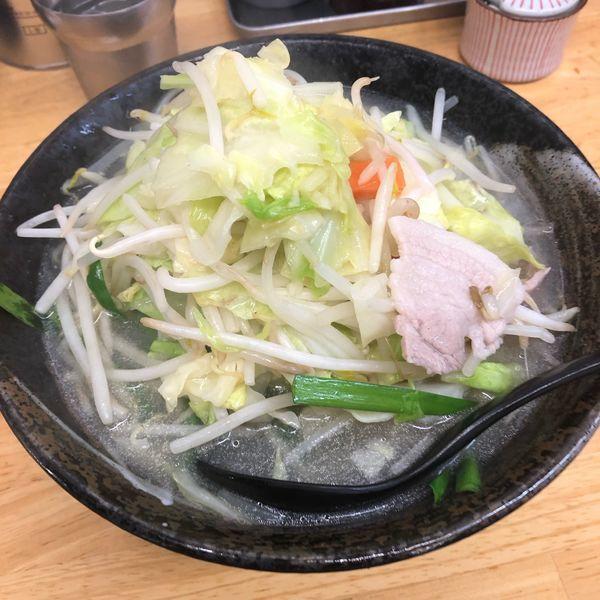 「タンメン」@タンメンしゃきしゃき 新橋店の写真