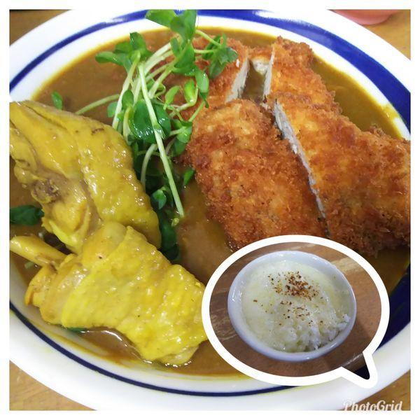 「サラリ鶏カレー S」@MENYA 食い味の道有楽の写真