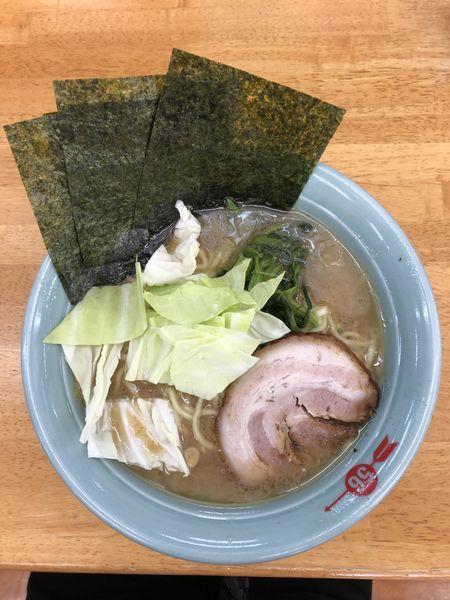 「ラーメン中盛り(麺硬め)」@信州五十六家 広丘店の写真