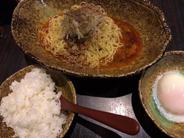 「汁なし担々麺」@中華そば くにまつ 本店の写真