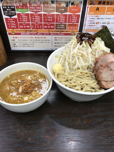「カレーつけ麺」@ラーメンいつきの写真