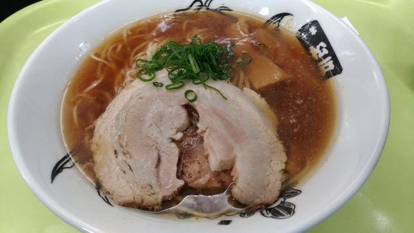 「厳選素材の中華そば」@中華蕎麦 とみ田 味の逸品会の写真