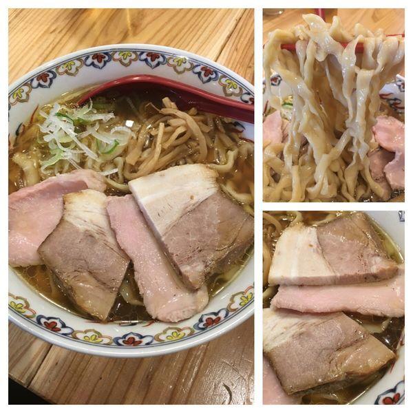 「限定 貝そば 肉増 950円」@くじら食堂 nonowa東小金井店の写真