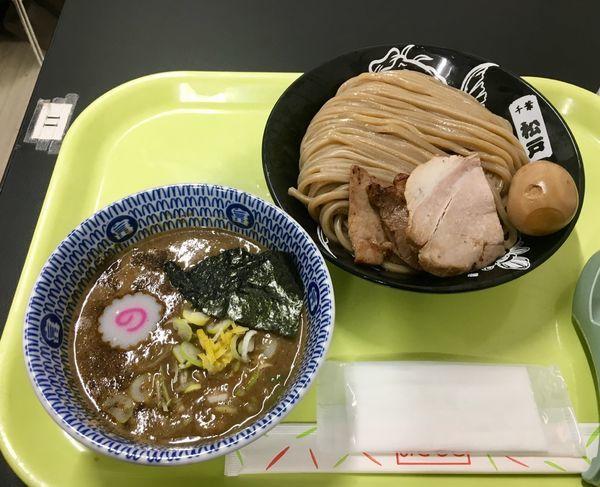「濃厚つけ麺 大 815円 + 特製トッピング 278円」@中華蕎麦 とみ田 味の逸品会の写真