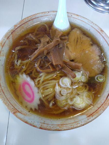 「ラーメン 600円」@田中食堂の写真