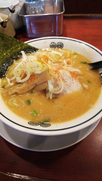 「味噌ラーメン」@東京とんこつ とんとら 北本店の写真