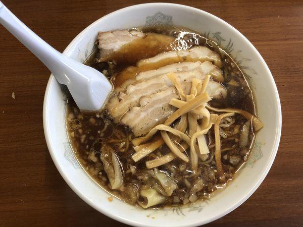 「チャーシューワンタン麺」@屋台屋の写真