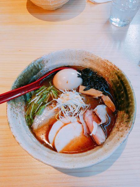「特製焼きあご塩ラーメン」@焼きあご塩らー麺 たかはしの写真