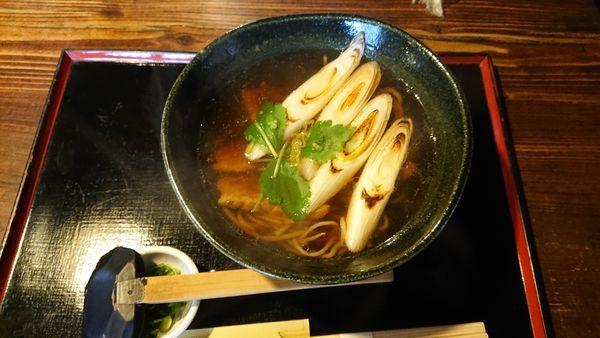 「鴨汁そば 1680円」@蕎舎の写真