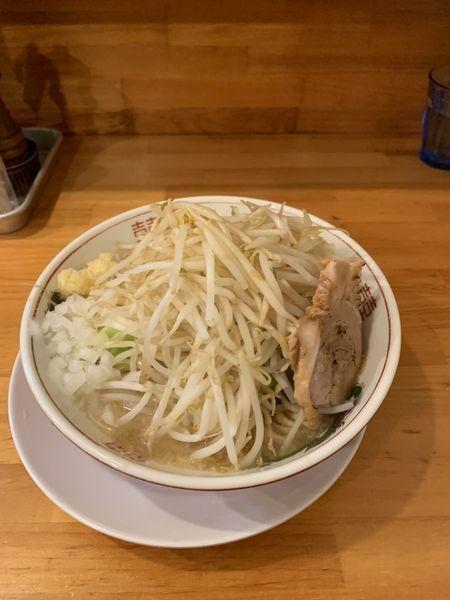 「ラーメン300g野菜増し 玉葱 ニンニク カラメ」@らーめん いち大の写真