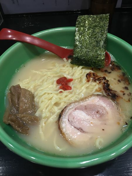 「むさし坊らーめん 太麺」@麺匠 むさし坊 武蔵浦和本店の写真